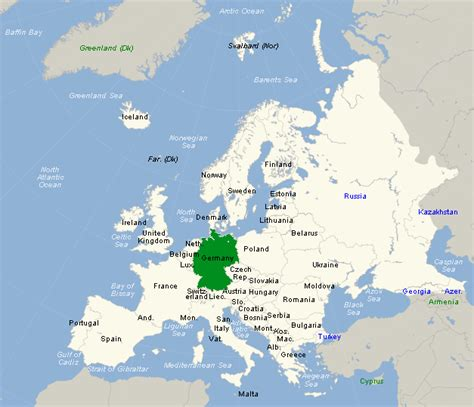 europe germany map throughthekeyhole germany