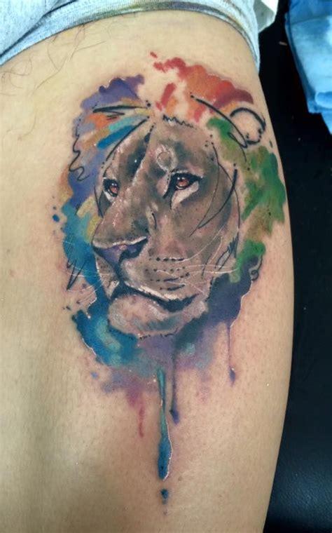 100 87 best tattoos la 100 watercolor style artist los dr woo
