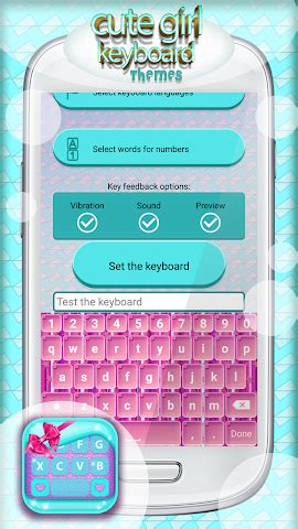 girl themes for android all about cute girl keyboard themes for android videos