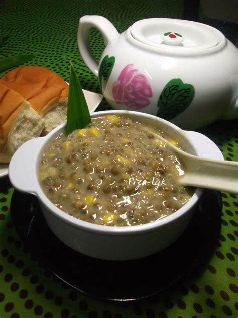 bubur kacang hijau berjagung fizas cooking