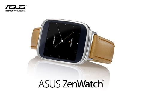 Asus Makes Its Zenwatch Asus Makes Its Zenwatch Android Wear Smartwatch Official