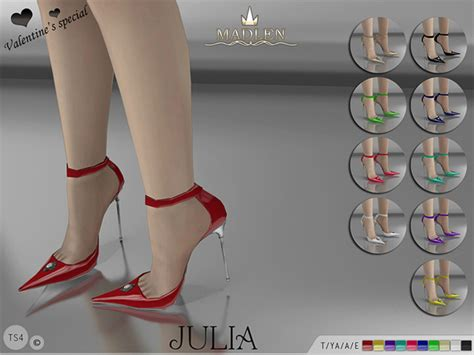 sims 4 shoes the sims resource madlen julia shoes by mj95 at tsr 187 sims 4 updates