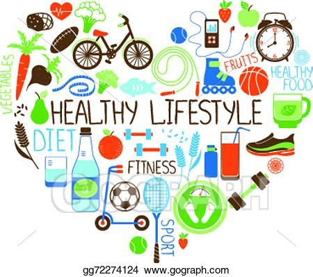 sport fitness a guide to a healthier lifestyle books eps vector healthy lifestyle diet and fitness sign