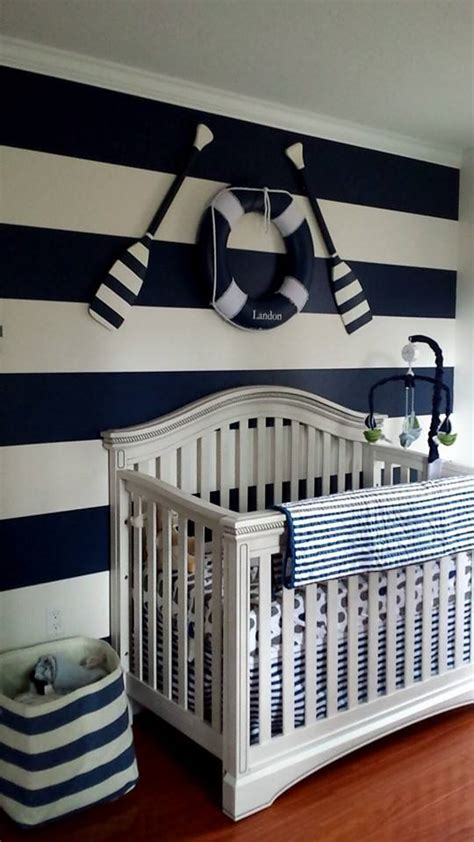 Nautical Decor For Baby Nursery Start Of Landon S Nautical Themed Nursery Project Nursery