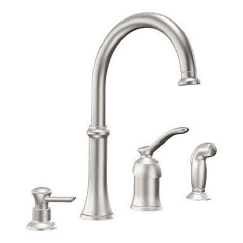 moen kitchen faucets repair parts replacement parts valves moen quinn ca87845csl one handle high arc kitchen faucet classic