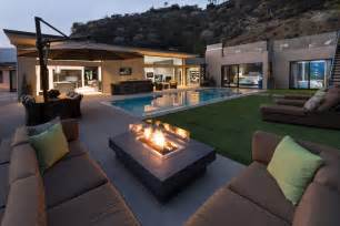 Hills residence offers lovely terrace views and luxurious interiors