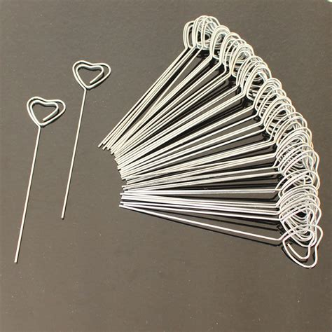 photo clips wire aliexpress com buy lot 50pc diy heart shape craft new