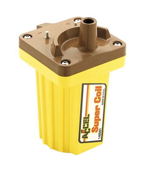 accel coil resistor accel 140001 ignition coil supercoil 45 000v holley performance products