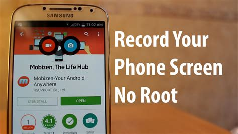 how to record on android how to record your phone screen without root for android