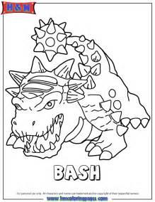 color bash bash color az dibujos para colorear