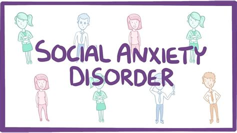 social anxiety disorder  symptoms diagnosis