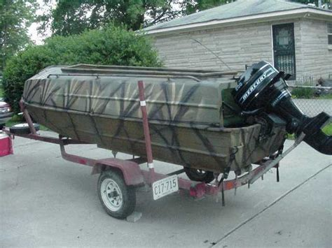 enclosed duck boat blind the duck hunter s boat page