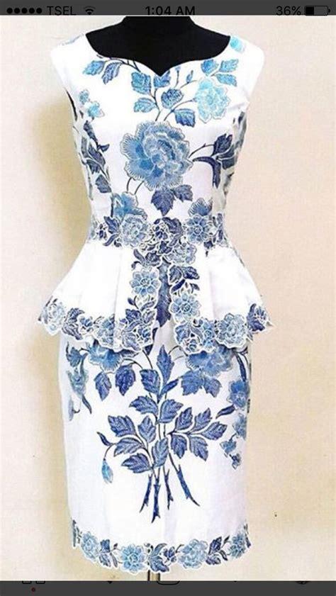 design dress kembang best 25 gaun batik modern ideas on pinterest dress