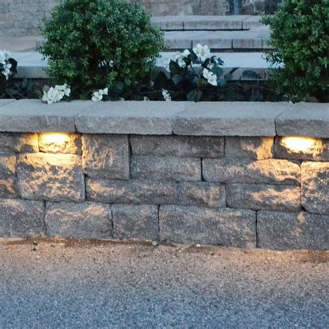 Retaining Wall Lights by Stainless Steel Low Voltage Garden Light 12v Led