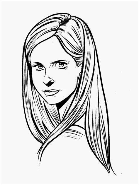 coloring pages buffy the vire slayer buffy the vire slayer 1 tv shows printable
