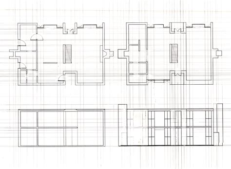 esherick house section plan esherick house house and home design