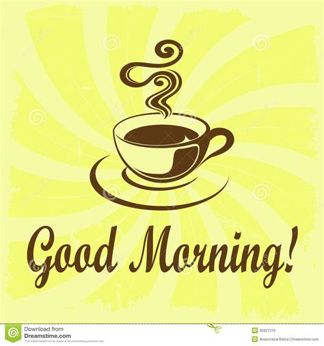 morning clipart morning coffee clipart