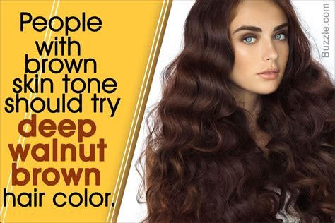 color hair for brown skin how to find the right shade of brown hair color for your