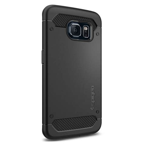 Rugged Armor Caseology Samsung Galaxy S6 Edge Casecarbon spigen 174 rugged armor sgp11414 samsung galaxy s6 edge black spaceboy