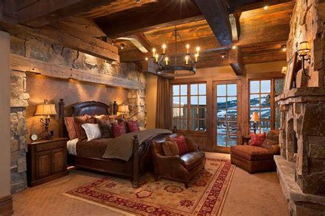 log home bedrooms beautiful log home bedroom cabins pinterest
