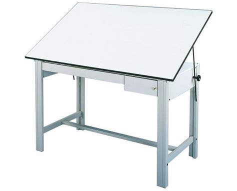 Drafting Table With Drawers Alvin Designmaster Drafting Table With Drawers Tiger Supplies