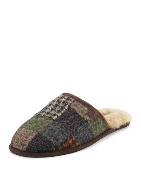 Patchwork Ugg Boots - ugg s scuff patchwork slipper