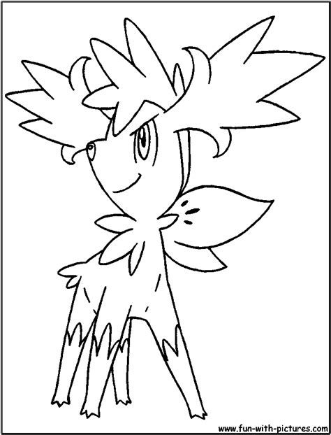 pokemon coloring pages shaymin pokemon sheymin colouring pages