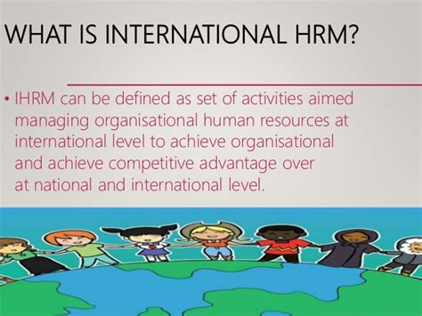 What Is The Difference Between Mba And International Mba by Differences Between International And Domestic Hrm