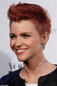 ruby rose hairstyles who s that girl ruby rose is almost unrecognisable as she