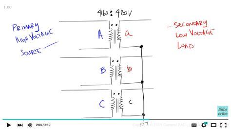 delta transformer wiring wiring diagram with description