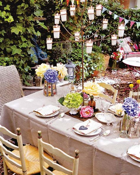 table decoration ideas summer party butterflies paper diy diy garden decorations colourful ideas with flowers and