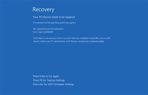 remove the your pc device needs to be repaired tech support scam