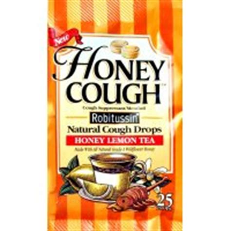 Robitussin Medicated Lozenges Honey Lemon 24 Lozenges drugs and medication picture