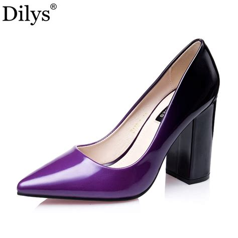 Office Heels 9cm 2016 fashion new office pointed toe 9cm high heels