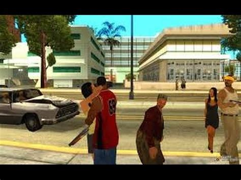 how to kiss any girl on the street? gta san andreas