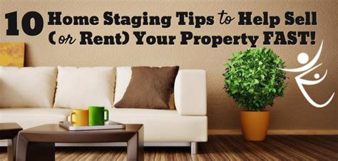 10 home staging tips to sell your property fast