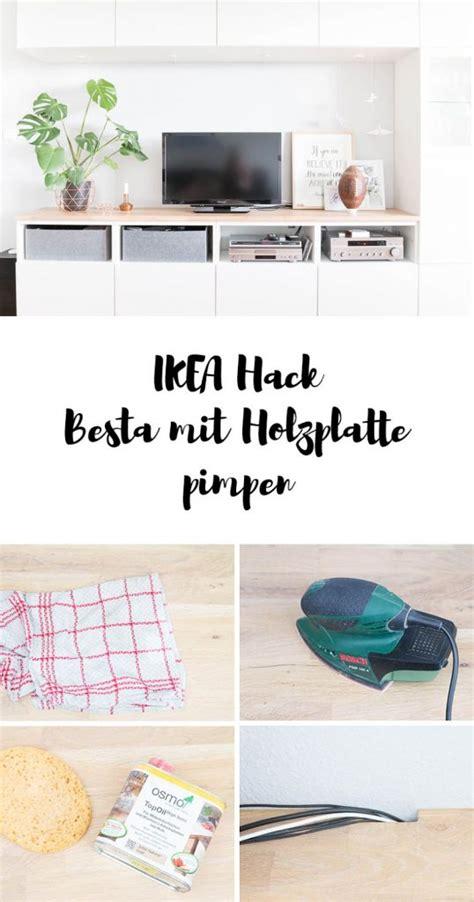 Besta Mit Holzplatte by Pimp My Besta Unser Neues Wohnzimmer Ars Textura Diy