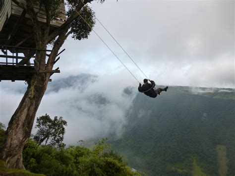 swing at the edge of the world if given a million dollar cash will you be brave enough