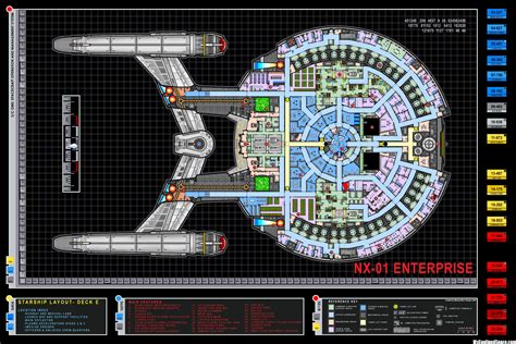 star trek enterprise floor plans nx 01 enterprise layout myconfinedspace