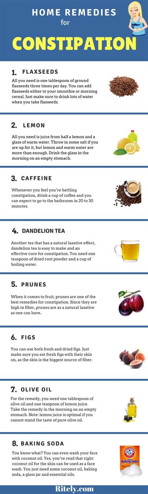 Detox Home Remedies For Constipation by Best 25 Constipation Remedies Ideas On