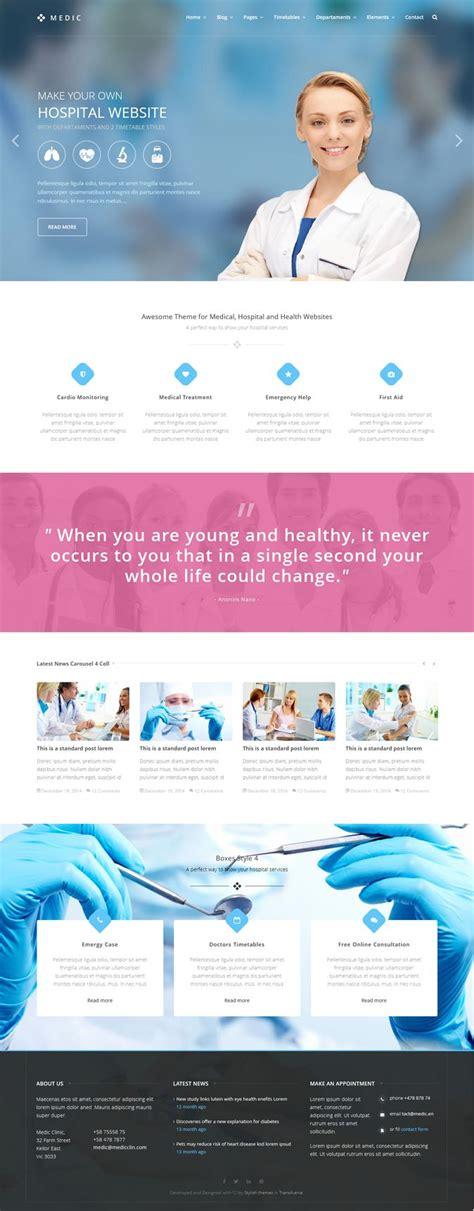 medical web design layout 17 best images about medical web design on pinterest