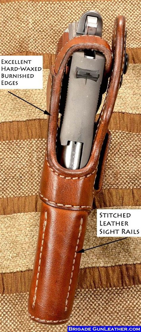 Handmade Gun Holsters - 25 best ideas about 1911 leather holster on