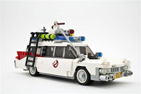 Ecto One Car by Review Lego 21108 Ghostbusters Ecto 1 Rebrickable