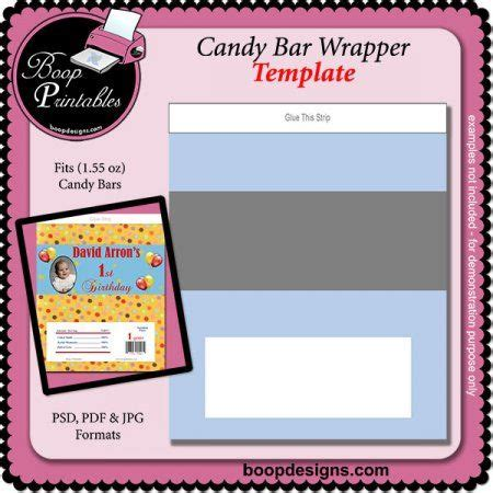 personalized bar wrappers template free bar wrapper 1 55 oz template by boop designs