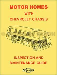 1974 chevy gmc p30 p35 motorhome foldout wiring diagram original