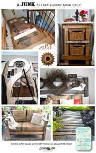 Junk Decorating Home Ideas A Junk Filled Summer Home Decorating Tour Funky Junk Interiorsfunky Junk Interiors