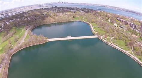 silverlake park dji phantom drone footage of silver lake park on staten island