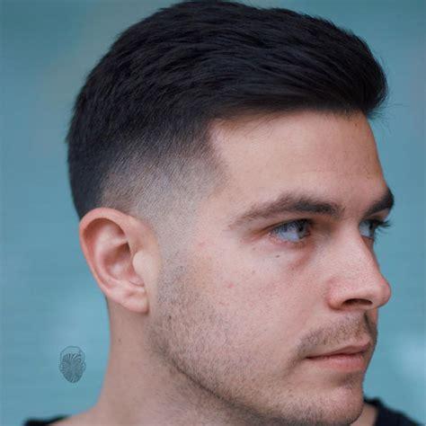 Men's Crew Cut Hairstyle