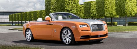 roll royce orange rolls royce designboom com