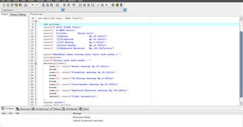 membuat puisi harus menggunakan membuat program sederhana menggunakan dev c dojo shared